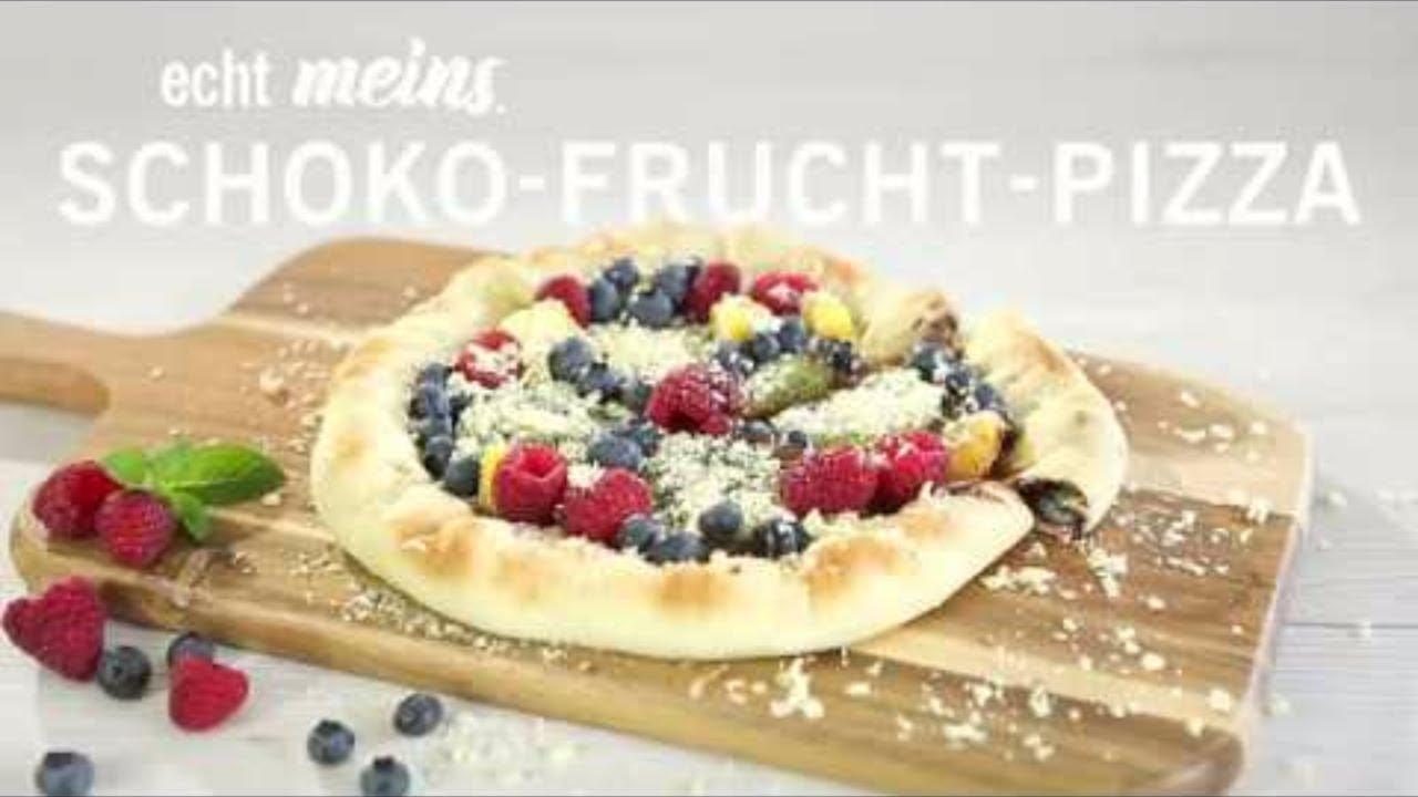 Schoko Pizza Selber Machen Mein Heimvorteil Youtube