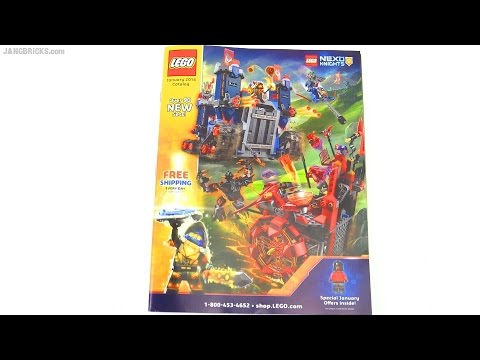 A look through the LEGO US January 2016 catalog - YouTube