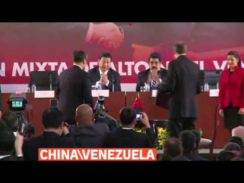 mitv - Chinese President Xi Jinping, on an official visit to Caracas