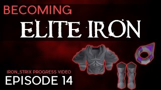 3 Elite Diary Rewards - Becoming Elite Iron #14 - OSRS Ironman Series