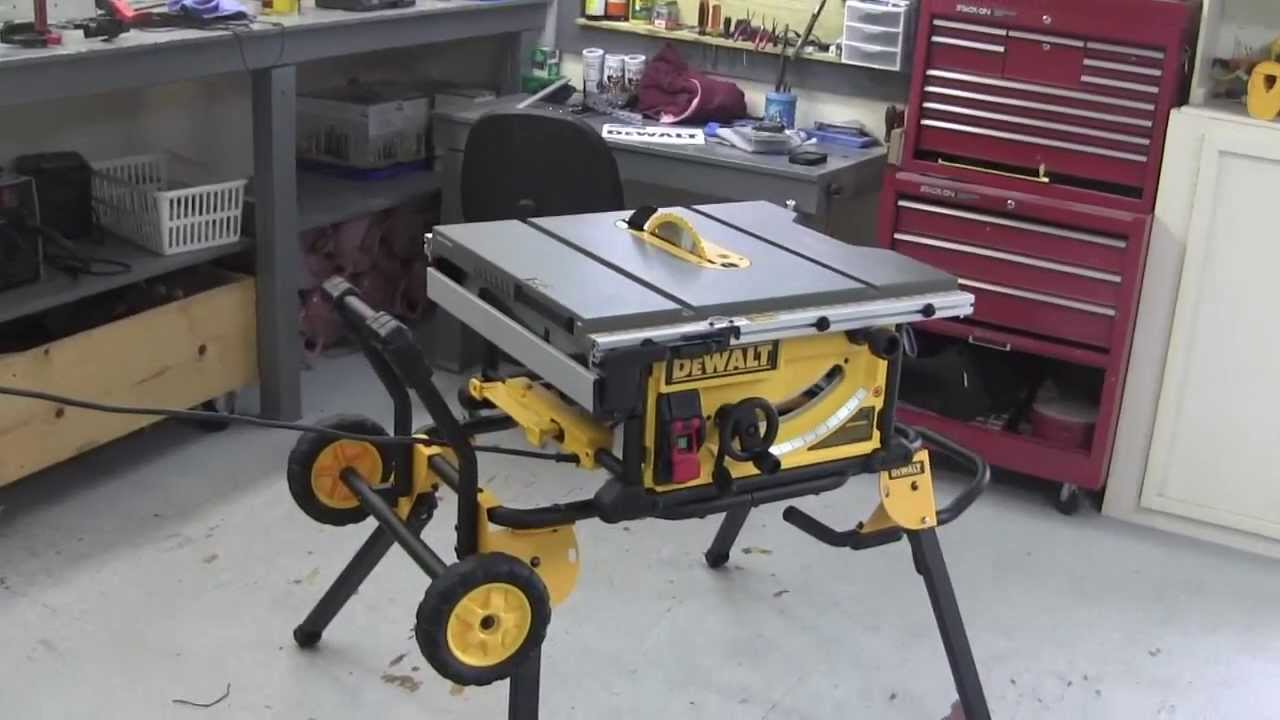 Dewalt Tablesaw Dwe7491rs Not A Review Youtube