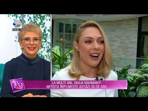 Teo Show (16.01.2018) - Giulia Nahmany a implinit 35 de ani! Partea I