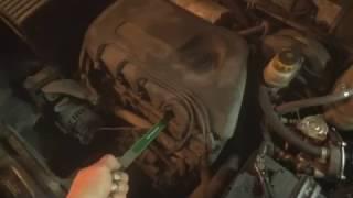 Инжекторный автомобиль троит только на холодную.  Интересный случай. А всему виной катушка зажигания