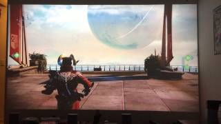 optoma hd26 playing destiny on the xbox one part 2