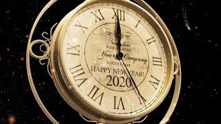 New Year Countdown Clock 2020 Happy New Year