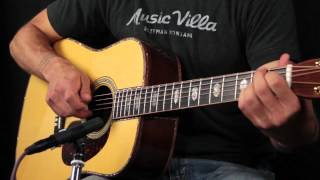 Martin D45 Adirondack and Madagascar Rosewood Review - How does it sound?