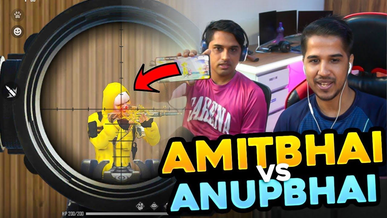 My Brother AnupBhai Challenge Me in 1v1 || Desi Gamers