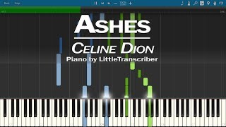 Celine Dion - Ashes (from the Deadpool 2 Motion Picture Soundtrack OST) Piano Cover | LilTranscriber