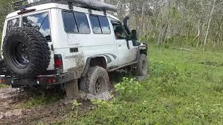 Bogged to the eyeballs in Townsville!