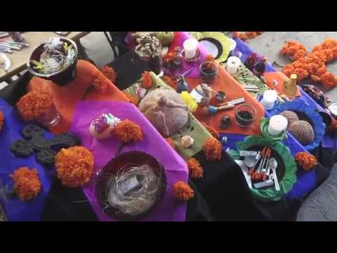 Celebración del día de muertos en PrevenCasa A.C.