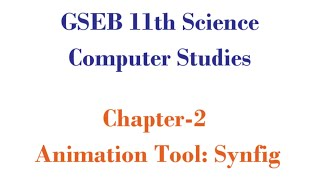 GSEB 11th Science Computer Science Chapter-2