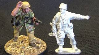 Unboxing; Offensive & Perry miniatures Fallshirmjager
