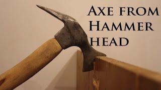 Wie dem Schmieden einer Axt, Einem Hammer Kopf
