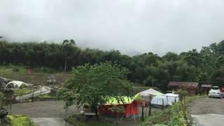 午後山嵐陣陣飄來,避暑的好營地!鹿林道營地!(http://lulin.com.tw)