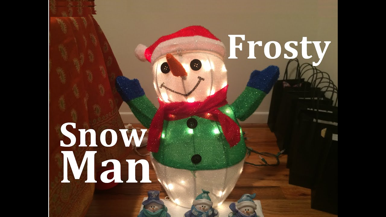 3d9733ae8 Frosty the Snowman Frozen Songs Dance Remix Olaf Christmas Toys for Kids  Children