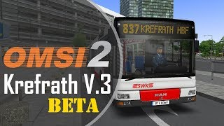 OMSI 2 | #183 | Krefrath V.3 BETA | Wir testen das NEUE Krefrath | 873 → Krefrath Hbf.