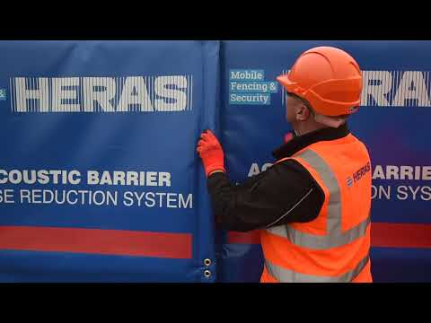 Heras Acoustic Barrier System