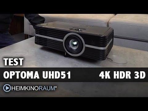 TEST: OPTOMA UHD51 4K UltraHD HDR 3D Beamer