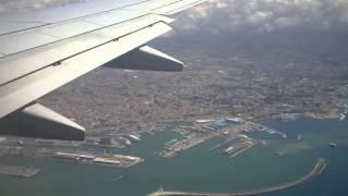RYANAIR 737-800 LANDING FROM LAMEZIA TO PISA (Turbolence)