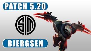 TSM Bjergsen | Zed vs Ahri | Mid | October 25th, 2015 | Season 5 | Patch 5.20