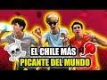 PRUEBAN EL CHILE MAS PICANTE DEL MUNDO *se arrepiente al instante*