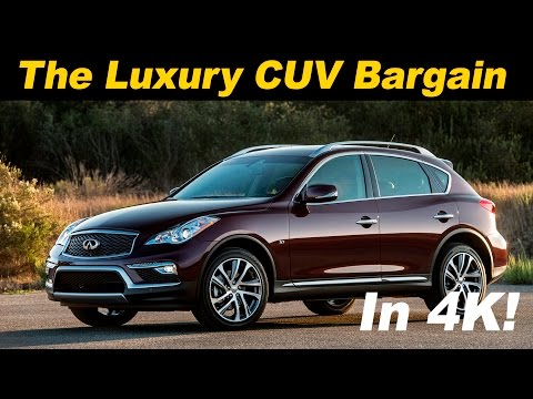 2017 Infiniti QX50 Review and Road Test DETAILED in 4K UHD!