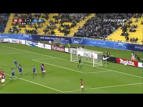 アジアカップ2011 準決勝 韓国-日本