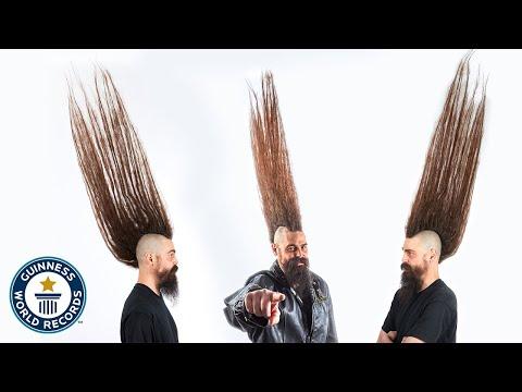 Tallest Mohawk - Guinness World Records