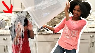 WATER BOTTLE PRANK COMPETITION! - Shasha and Shiloh Onyx Kids