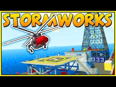 BUILDING AWESOME VEHICLES & SAVING LIVES AT SEA - Stormworks: Build and Rescue - Stormworks Gameplay