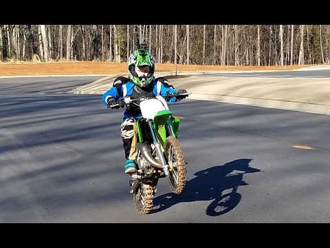 True Max Speed on kx 65, Mile long straight away , with dirt and asphalt.