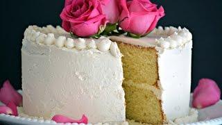 Receta de Torta de Vainilla | Como Hacer Un Pastel de Vainilla | SyS