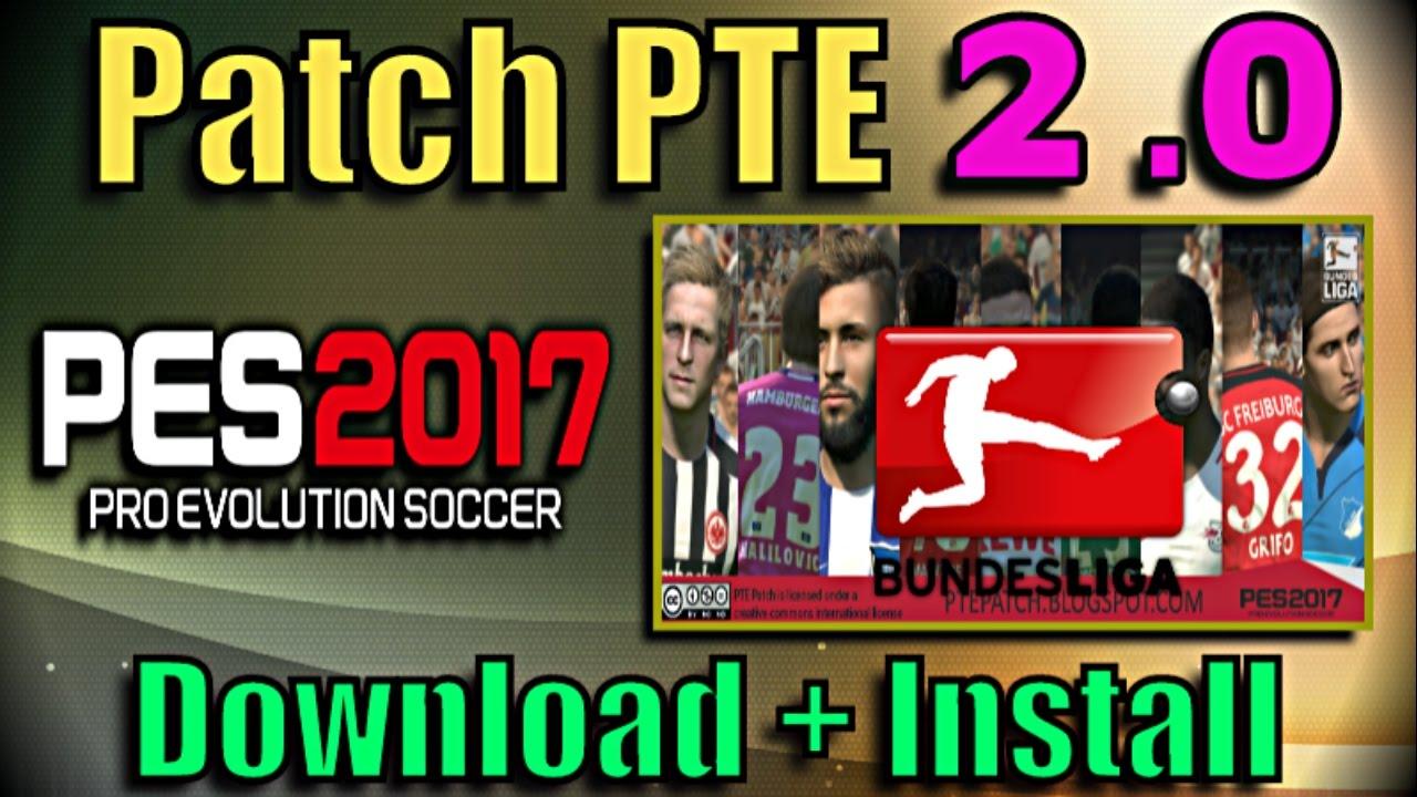 pro evolution soccer 2017 patch 2018 download