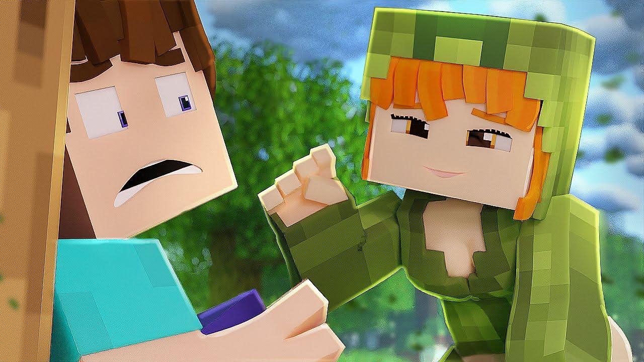 Creeper Girl Minecraft Animation Youtube