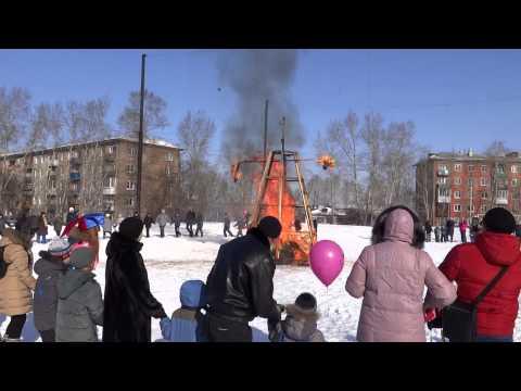 Праздник Масленицы от МУП УКС города Иркутска