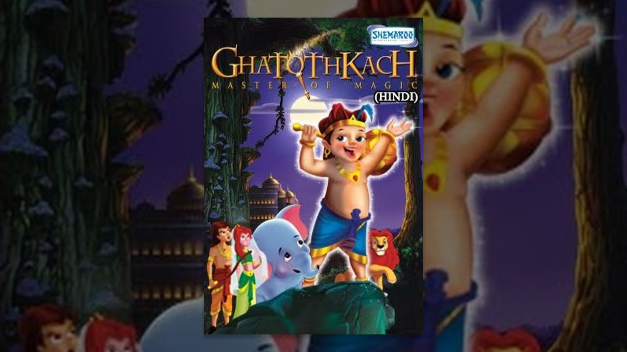 Ghatothkach Master Of Magic (Hindi) - Popular Cartoon Movies For Kids
