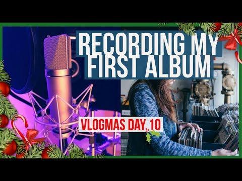 RECORDING MY FIRST ALBUM - VLOGMAS 2017 - 동영상