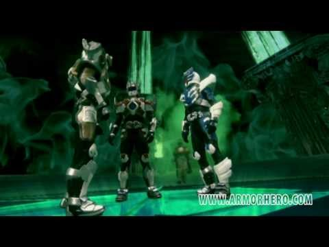 Armor Hero XT - Official English Clip [HD 公式] - 50