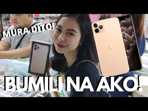 MURA SA GREENHILLS! BUYING A NEW PHONE (IPHONE 11 PRO MAX!) KATH MELENDEZ