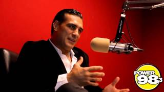 Alberto Del Rio speaks on Darren Young, Black Eyes, & RVD using Ricardo Rodriguez