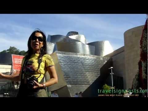 Bilbao -- Live from the stunning Guggenheim Museum