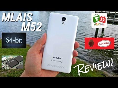 Mlais M52 - 4G LTE - [Full Review] - MTK6752 - 2GB/16GB - 4.4.4 - 3200mAh - OTG - Gestures
