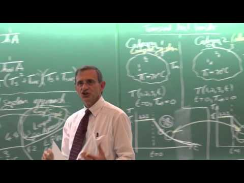 Lecture 02 (2014). Transient heat transfer and introduction to lumped system approach