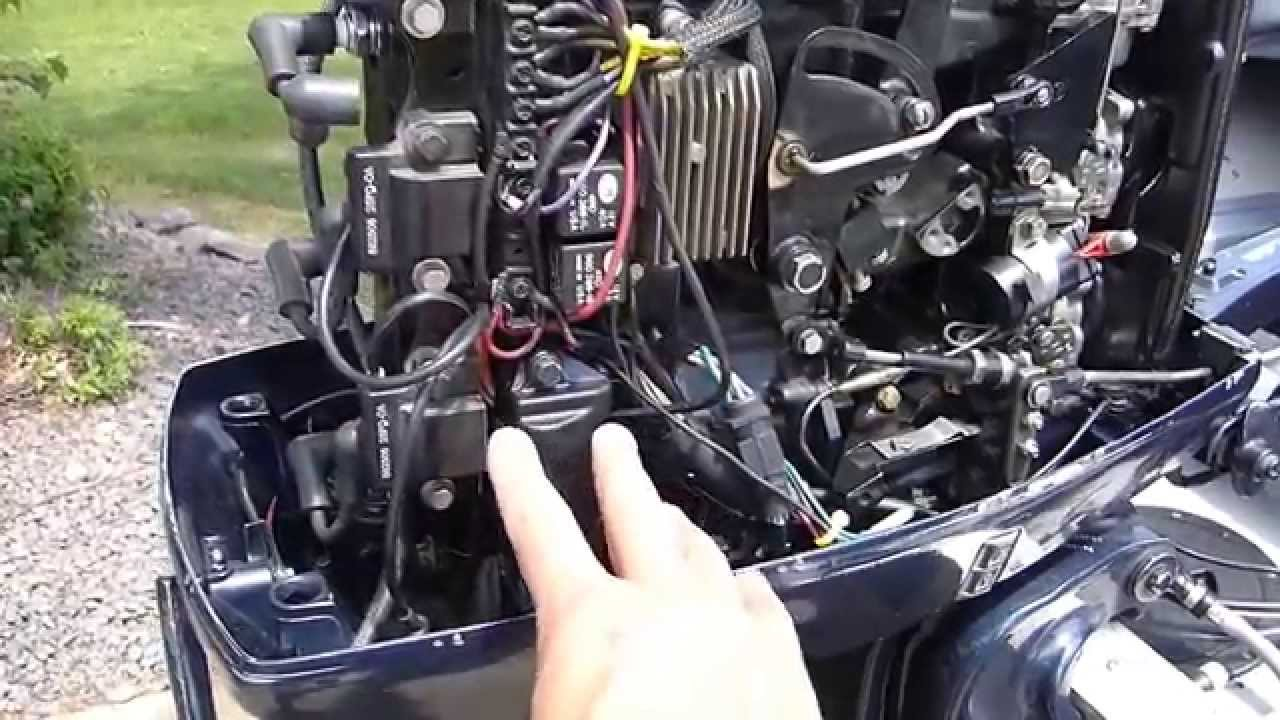 Mercury 115 Wiring Diagram 98 Honda Accord Fuse Box Outboard Wont Start / Power Pack Issue - Youtube