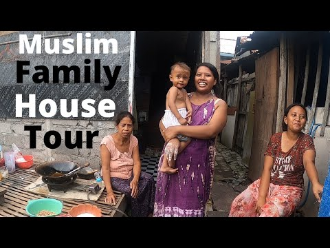 Poor Village|Bali Indonesia| Family House Tour