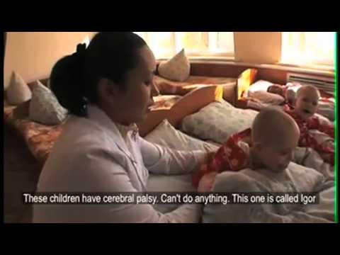 Orphanage for disabled children in Kazakhstan