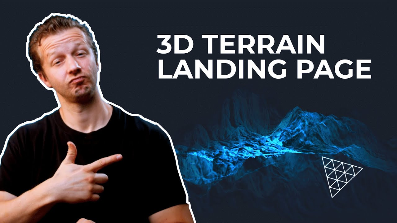 ThreeJS Displacement & AlphaMaps - Create a 3D Terrain!