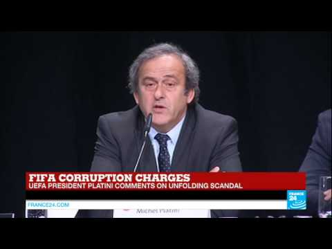 "Michel Platini on FIFA corruption scandal: ""I asked Blatter to resign"""