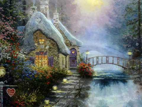kinkade thomas places dream paintings moving painting painter drawing rose yellow perfect