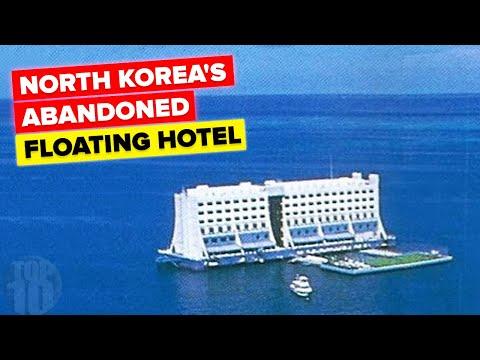 North Korea's Abandoned Floating Hotel